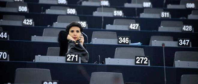 Rachida Dati au Parlement europeen.