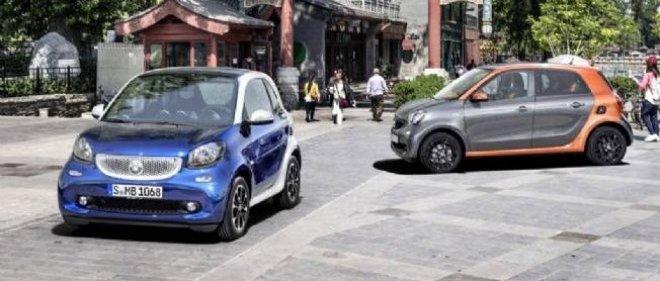 Les nouvelles Smart ForTwo et ForFour partagent leurs plateformes et leurs mécaniques avec la Renault Twingo.
