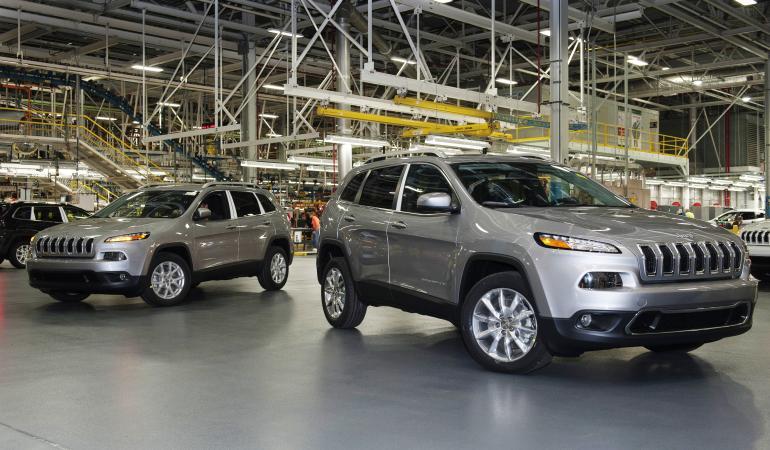 Les plateformes 4X4 de Jeep et le réseau de Chrysler excitent la convoitise de VW ©  DR