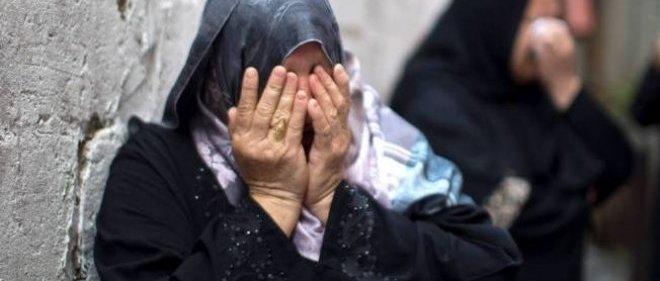 Gaza enterrait ses morts le 18 juillet, au lendemain du lancement d'une offensive terrestre contre le territoire palestinien.