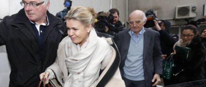Corinna Schumacher, en janvier dernier à Grenoble. Elle ne veut pas la publication de certaines des photos prises à ce moment-là.