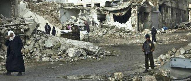 Quatre-vingt-dix personnes ont été froidement abattues et mutilées par des djihadistes, dans un champ gazier de Homs. Photo d'illustration.