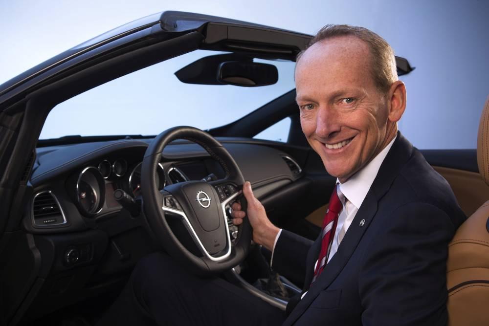 Karl-Thomas Neumann reste aux commandes d'Opel mais ne dit pas quelles sont les perspectives des synergies avec PSA ©  Opel