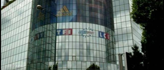 Le siege de TF1 et LCI a Boulogne-Billancourt. Photo d'illustration.