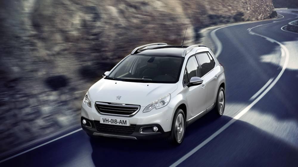Le ssytème Hybrid-Air ira comme un gant aux voiutres petites et compactes comme ici la 2008 et le C-Cactus ©  Peugeot