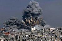 L'armée israélienne poursuit ses bombardements sur la bande de Gaza. Ici, le 29 juillet. ©ASHRAF AMRA / AFP PHOTO