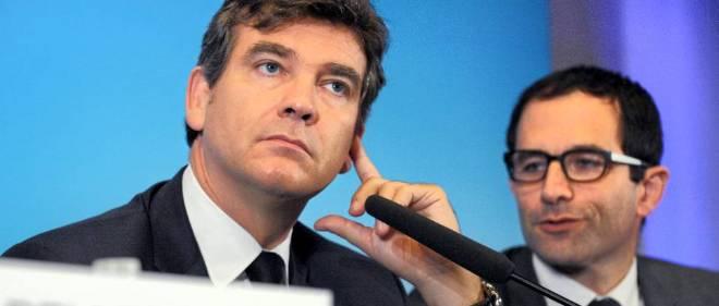 Arnaud Montebourg et Benoît Hamon sont proches des frondeurs PS. Photo d'illustration.