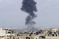 Vendredi matin, malgré le cessez-le-feu décrété pour 3 jours, au moins huit Palestiniens ont été tués. ©SAID KHATIB / AFP