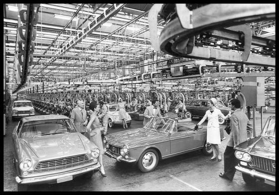 Les belles usines utinoises et Fiat à l'apogée des années soixante sont un lointain souvenir ©  Fiat