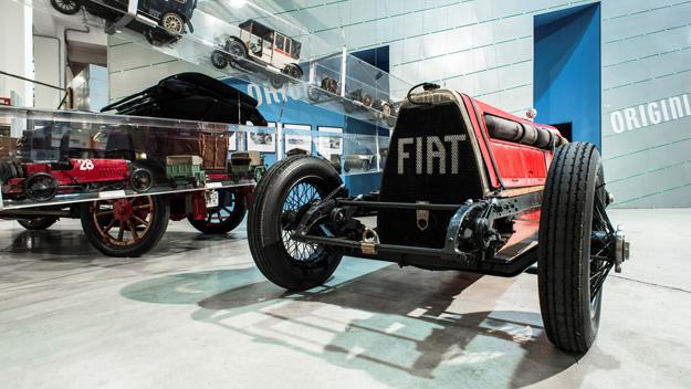 Le musée montre toute la richesse de l'histoire Fiat, un grand industriel du siècle ©  DR