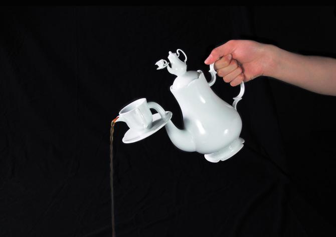 Le travail de la designer Ya Wen Shih, imprimé en 3D, a été récompensé lors du concours international de la porcelaine 2014. ©  2014 YA WEN SHIH