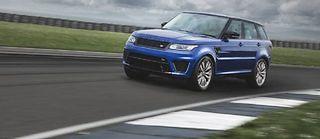 Le Range Rover Sport SVR a notamment été mis au point sur le très exigeant circuit du Nürburgring.