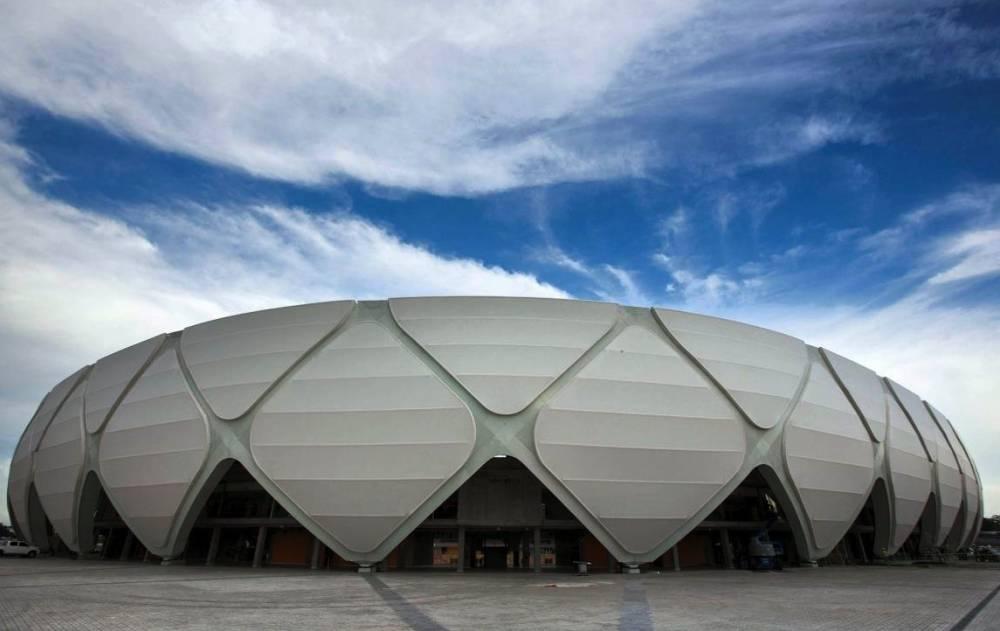 Le stade Amazonia, à Manaus. ©  AP Photo/Felipe Dana