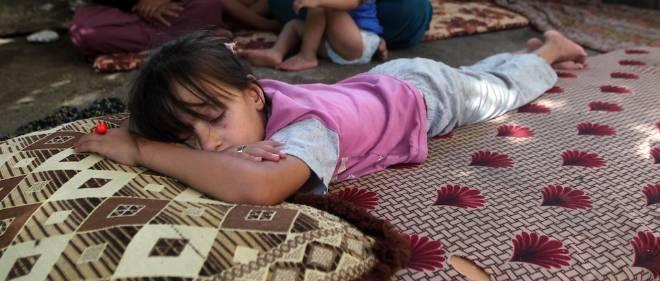 Comme les chrétiens, les yazidis, une minorité kurde, ont fui devant la menace djihadiste.