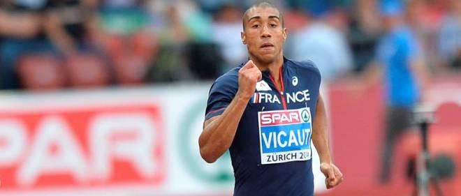 Le sprinteur avait réalisé le meilleur temps des séries, en 10 s 06.