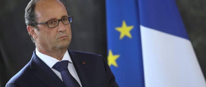 """François Hollande rejette vers l'extérieur - """"l'environnement international et européen"""" - la responsabilité des très mauvais chiffres économiques du moment."""