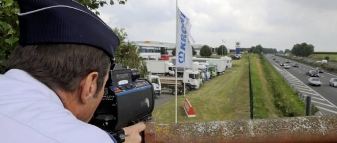 Un contrôle radar à Lille. Photo d'illustration.