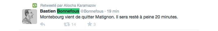 Tweet Monde ©  Capture d'écran / Twitter