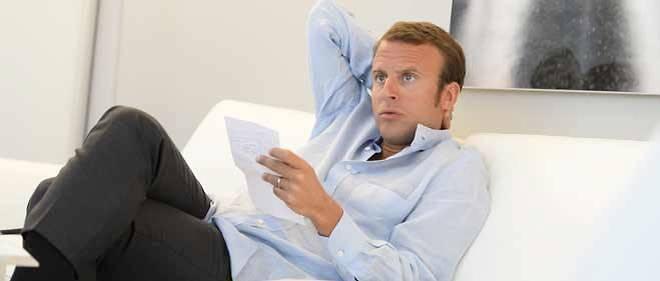 Emmanuel Macron, le dimanche 24 août 14, juste avant la démission du gouvernement Valls I.
