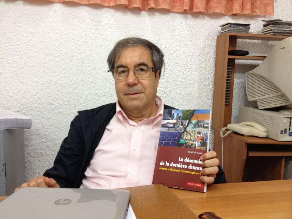 """L'économiste Abdelhak Lamiri, auteur de """"Algérie, la décennie de la dernière chance"""" ©  Armin Arefi"""