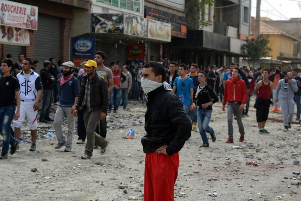Des émeutes ont éclaté à Raffour. ©  AFP