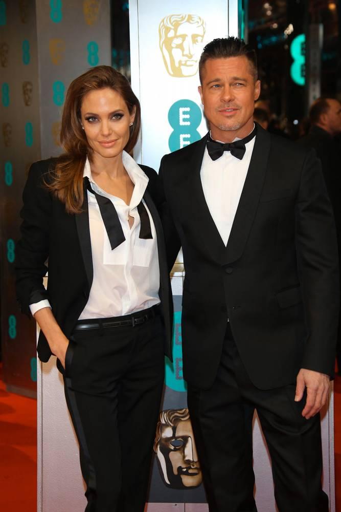 Angelina Jolie et Brad Pitt, le couple le plus glamour du monde ©  Hubert Boesl/DPA/ABACAPRESS.COM