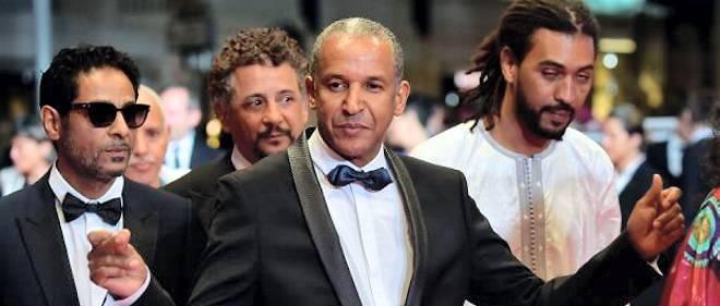 "Le cinéaste mauritanien Abderrahmane Sissako, réalisateur de ""Timbuktu"", ici au Festival de Cannes, mai 2014."