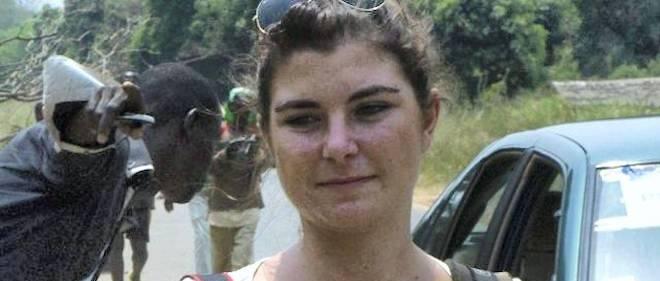Camille Lepage, photojournaliste française tuée en Centrafrique il y a un mois.