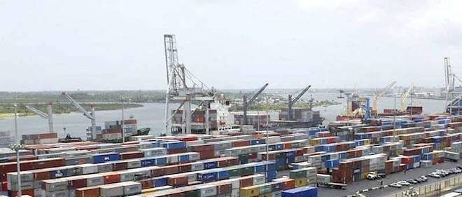 Le port de Lagos, au Nigeria.