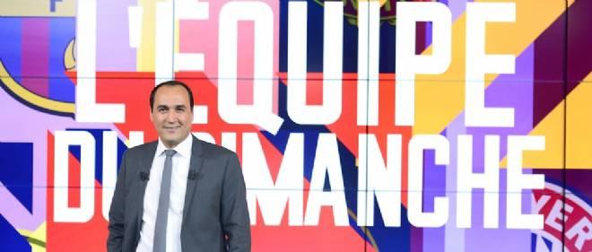 """Messaoud Benterki prend les rênes de """"L'Équipe du dimanche"""" sur Canal+ cette saison."""