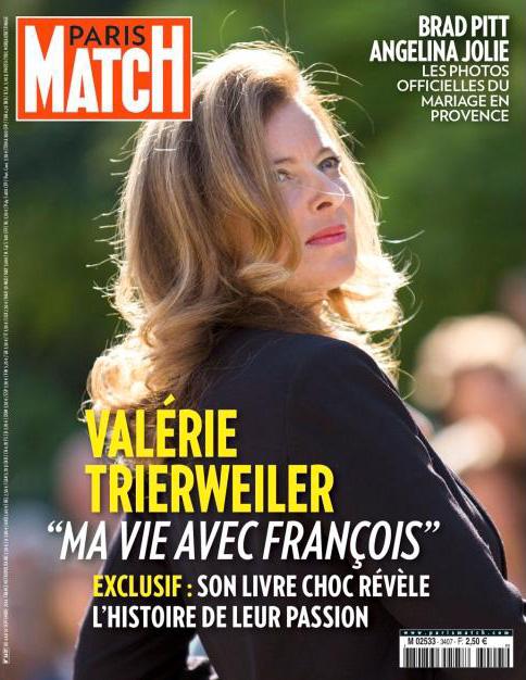 Paris Match publie les bonnes feuilles du livre de Valérie Trierweiler ©  DR
