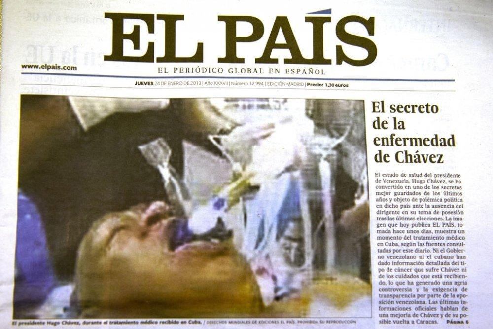 Hugo Chávez à l'hôpital