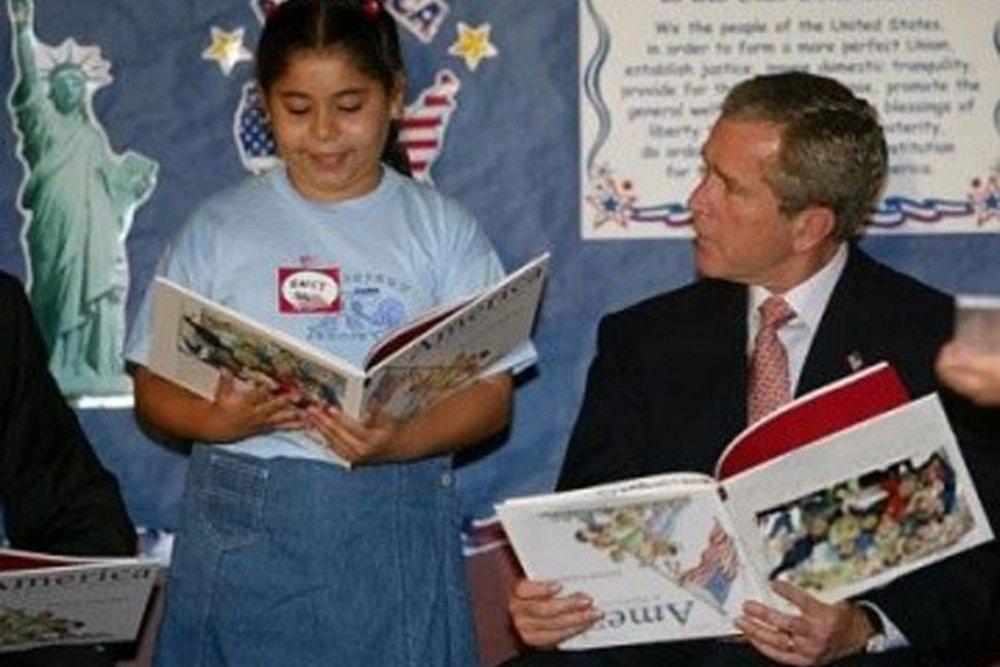 Bush lit à l'envers