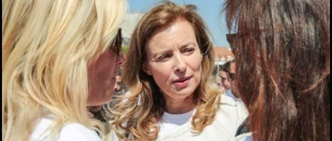 Valérie Trierweiler en mai dernier.
