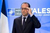 Soixante chefs d'État et de gouvernement, dont Barack Obama et François Hollande, sont à Newport, près de Cardiff, pour un sommet sous tension. ©ALAIN JOCARD / AFP
