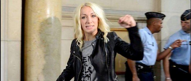 """""""Nous sommes très contentes, très satisfaites, mais qu'attendiez-vous d'autre, que nous perdions ?"""" a lancé à la presse Inna Shevchenko, chef de file des Femen en France."""