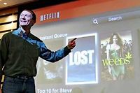 Neil Hunt, à l'origine de l'algorithme du site de streaming. ©Paul Sakuma/AP/SIPA