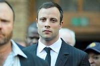 Oscar Pistorius lors de son procès, début août. ©MUJAHID SAFODIEN