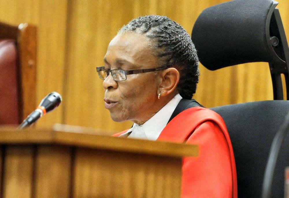 La juge Thokozile Masipa ©  KIM LUDBROOK / POOL / AFP