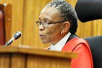 La juge Thokozile Masipa a écarté le meurtre, estimant que l'homicide avait été commis par