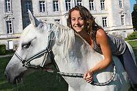 Mélanie Barton-Sartorius de Château Léoville-Barton en médoc. ©Louise Oligny