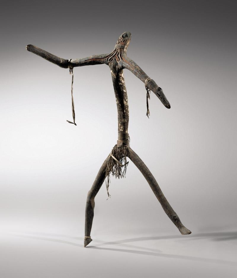 Statue, Imunu Golfe de Papouasie © Art Digital Studio / Sotheby's France