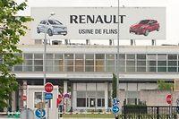 Bonne nouvelle pour les usines Renault en France (ici Flins) qui devraient pouvoir embaucher.