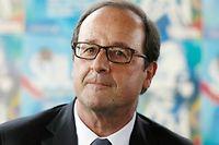 François Hollande s'est montré un brin défaitiste, lors de sa conférence de presse, même s'il reste persuadé d'avoir mené une politique économique appropriée. ©THOMAS SAMSON