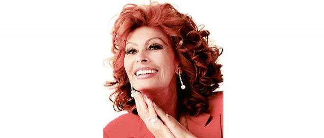 L'actrice Sophia Loren aujourd'hui.
