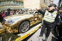 Les Chinois aiment beaucoup les Infiniti, la marque de luxe de Nissan, au point de les peindre en or. Elle seront bientôt fabriquées sur place.