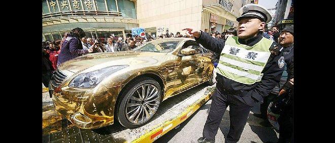 Les Chinois aiment beaucoup les Infiniti, la marque de luxe de Nissan, au point de les peindre en or. Elles seront bientôt fabriquées sur place.