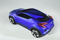 Le magnifique concept Toyota démontre qu'il y a un design en gros progrès chez le Japonais et que surtout la renaissance du RAV-4 est proche
