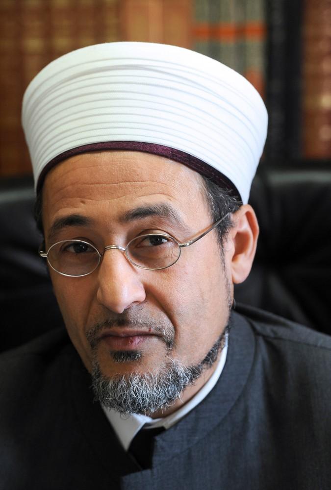 Le grand imam de la mosquée de Bordeaux, Tareq Oubrou ©  MEHDI FEDOUACH / AFP