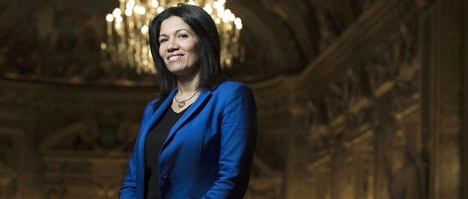 La sénatrice socialiste des Bouches-du-Rhône Samia Ghali.